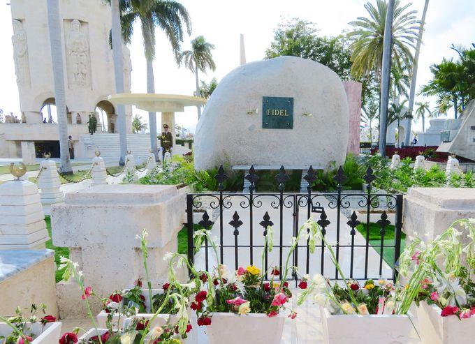 キューバの英雄たちが眠る墓