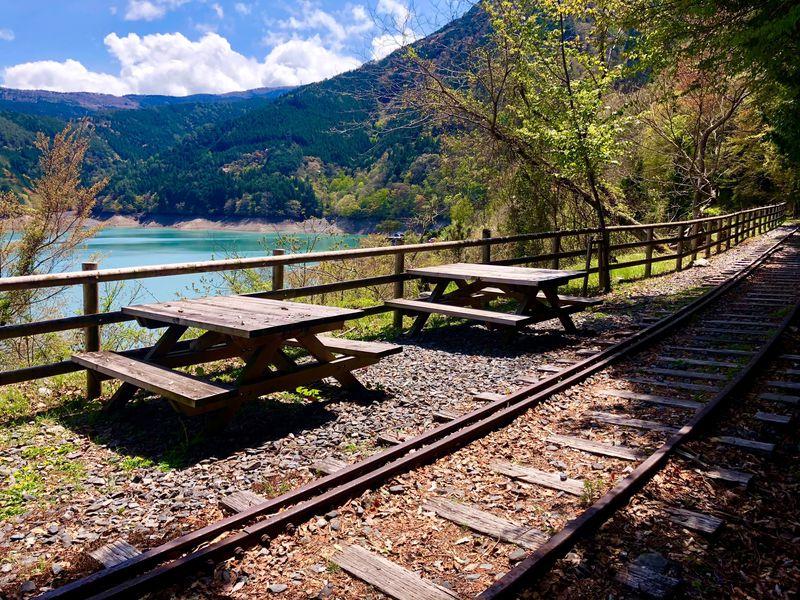 大井川鐵道のさらに先へ!奥大井のちょっと素敵な散策コース