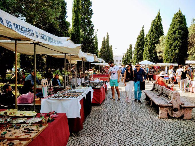 ベレン蚤の市とCCBベレン文化センターマーケット