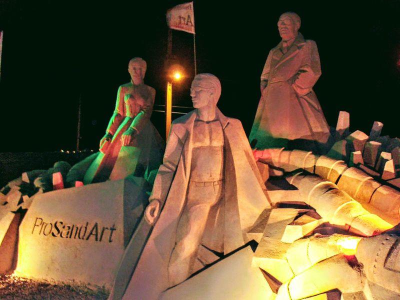世界最大級!ポルトガル南部アルガルベの砂彫刻フェスティバルに行こう!