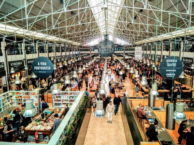 ランチはリスボンっ子に人気のタイムアウト・マーケットで!