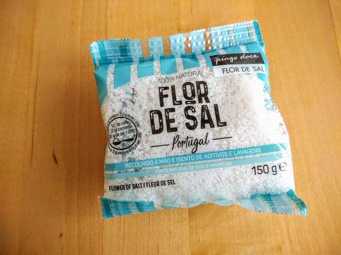 無添加、無精製のポルトガル産100%天然塩