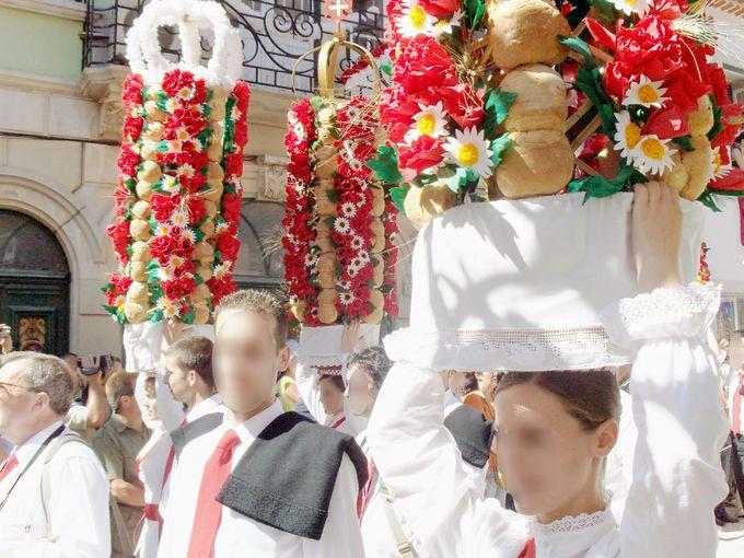 圧巻のタブレイロスのパレード