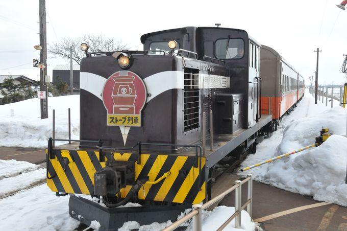 2.津軽鉄道 ストーブ列車/青森県