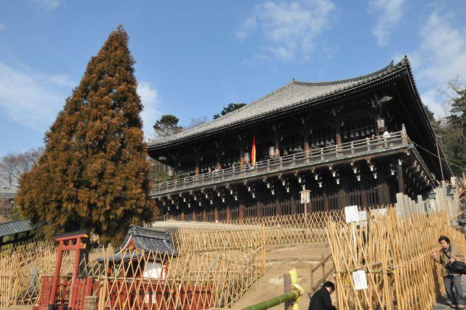 修二会(お水取り)の舞台、東大寺・二月堂