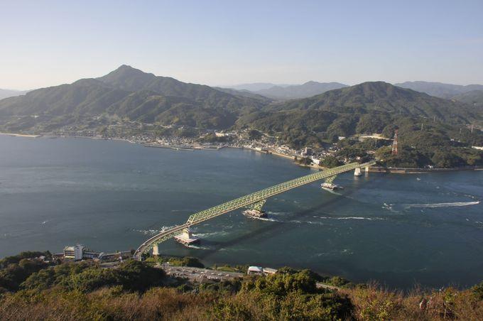大畠瀬戸の潮流を眺める!瀬戸内海で三番目の島、「周防大島」