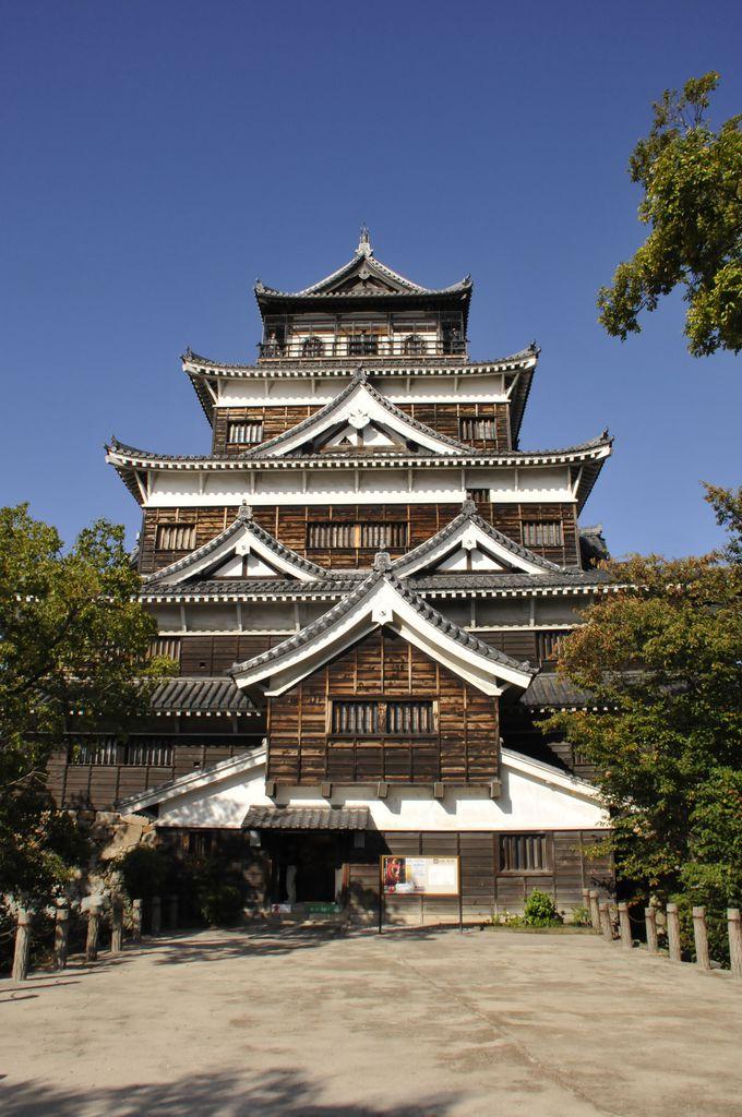 広島のシンボル「広島城」