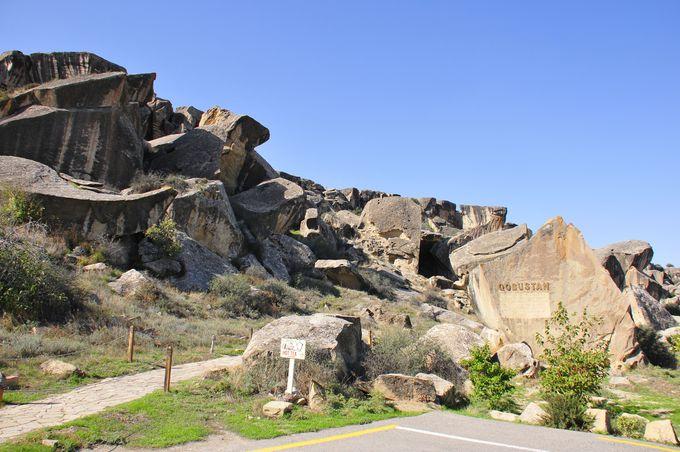 世界遺産 ゴブスタン遺跡