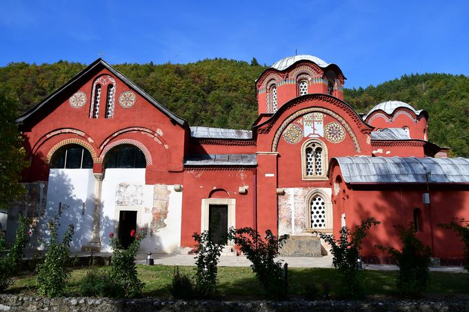 世界遺産ペーチ総主教修道院