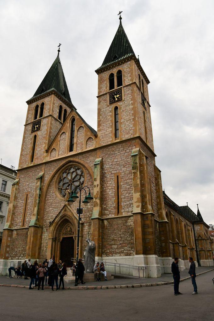 2.サラエボ大聖堂/サラエボ