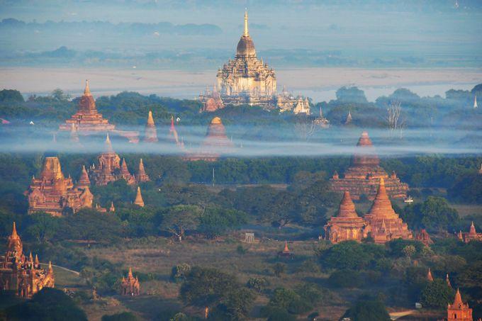 ミャンマーへのアクセス、まわり方