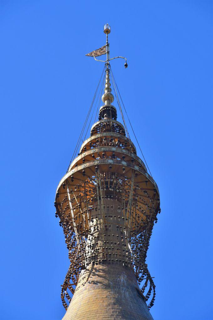ミャンマーで最も高いシュエモードー・パゴダ