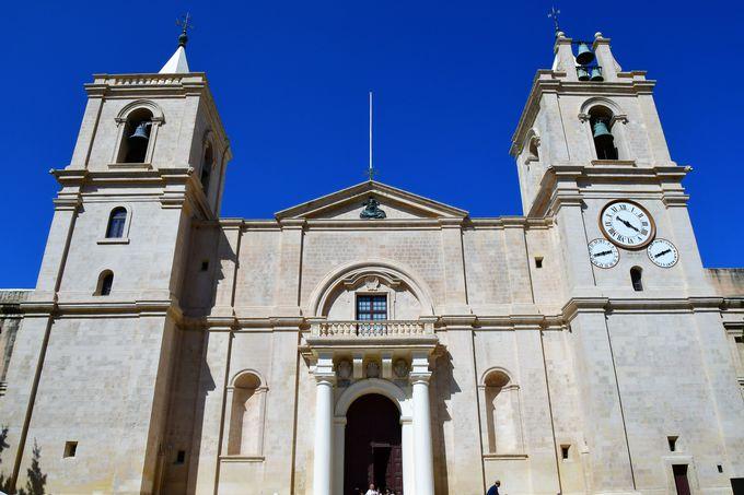バレッタのシンボル聖ヨハネ大聖堂
