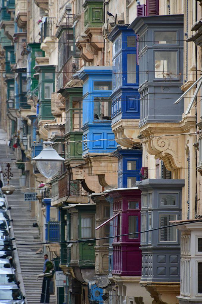 バレッタの魅力的な街並