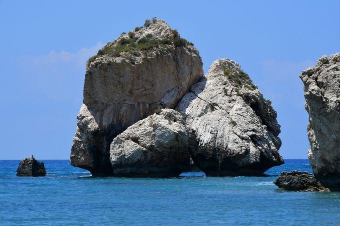 アフロディーテが生まれたペトラ・トゥ・ロミウ海岸