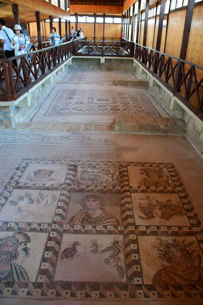 パフォス考古学公園ディオニソスの館