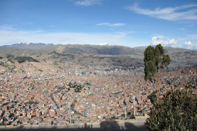 9時:ラパス全景を俯瞰