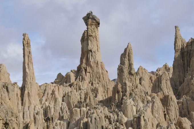 14時:キリキリ展望台と月の谷