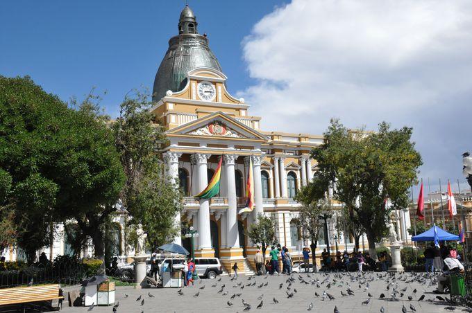10時:市の中心ムリリョ広場へ