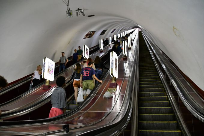 大学と劇場、そして世界最深の地下鉄