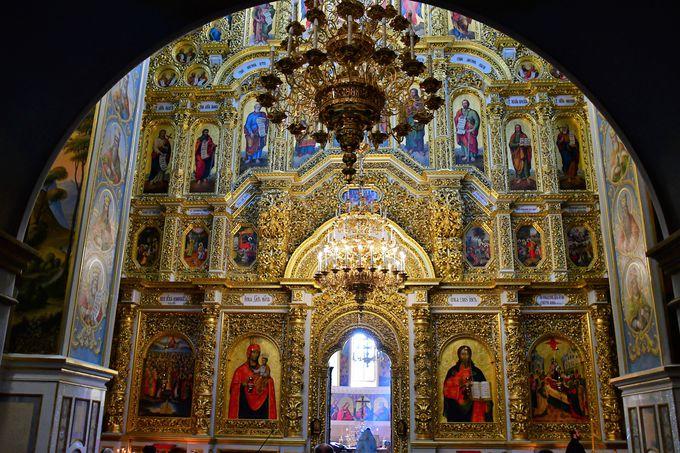 世界遺産ペチェルスカヤ大修道院