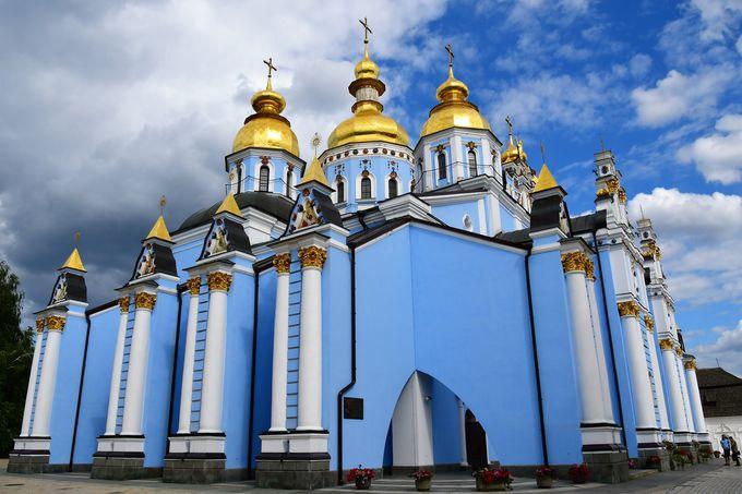 キエフ市内の主な教会