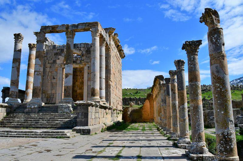 アルジェリアの世界遺産 ローマ帝国繁栄の証「ジェミラ遺跡」