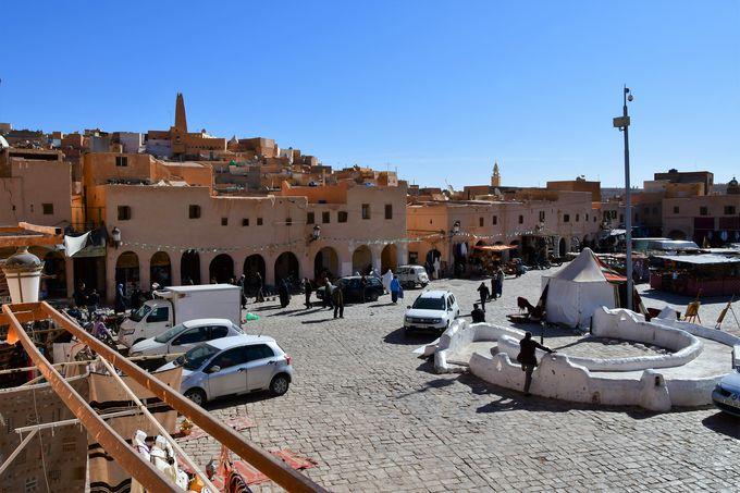 ムザブの谷最大の町ガルダイア