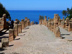 アルジェリアの世界遺産「ティパサ遺跡」と「モーリタニア王家の墓」
