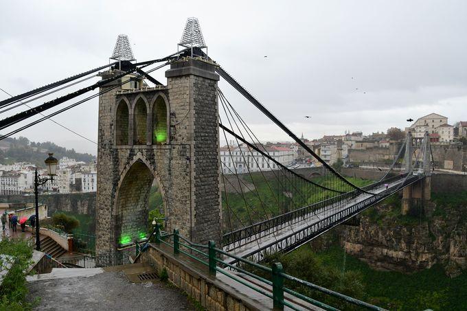 コンスタンティーヌのシンボル「シディ・ムシド橋」