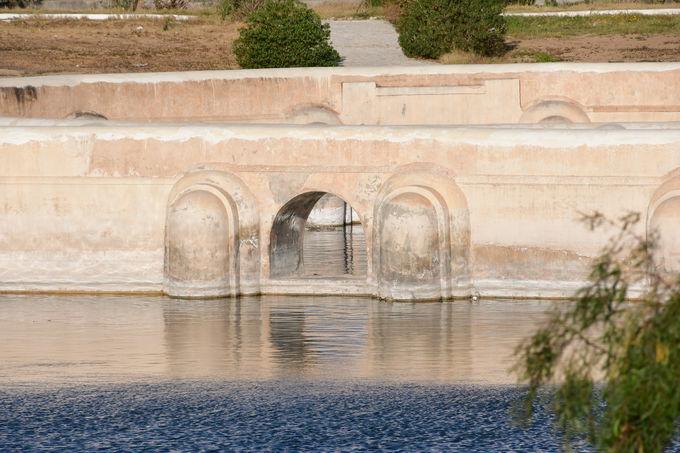 アグラブ朝の貯水池