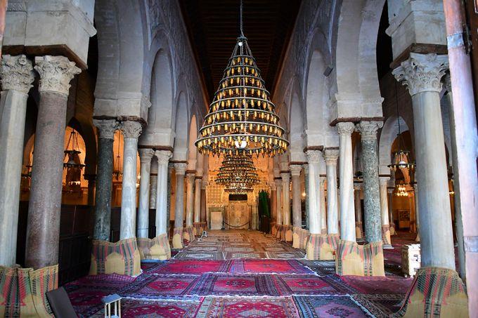 北アフリカ最古のグランド・モスク