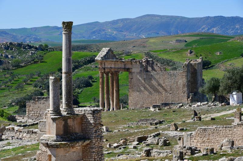 「ドゥッガ」ローマ帝国の繁栄を今に伝えるチュニジアの世界遺産