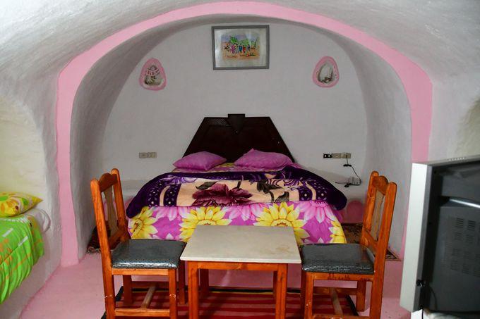 洞窟風ホテル「ディアル・エル・ベルベル」