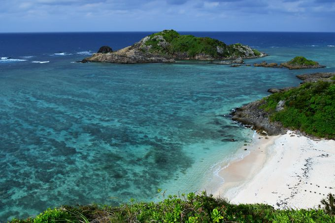 石崎半島の海岸