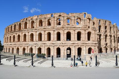 チュニジア「エル・ジェム」の古代ローマ闘技場とモザイクに驚嘆