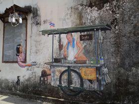 インスタ映え抜群!プーケット旧市街地「パンガー通り」のアートが凄い