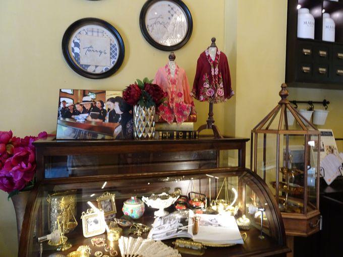 「プーケットオールドタウン」の歴史的建築物を改装したお店