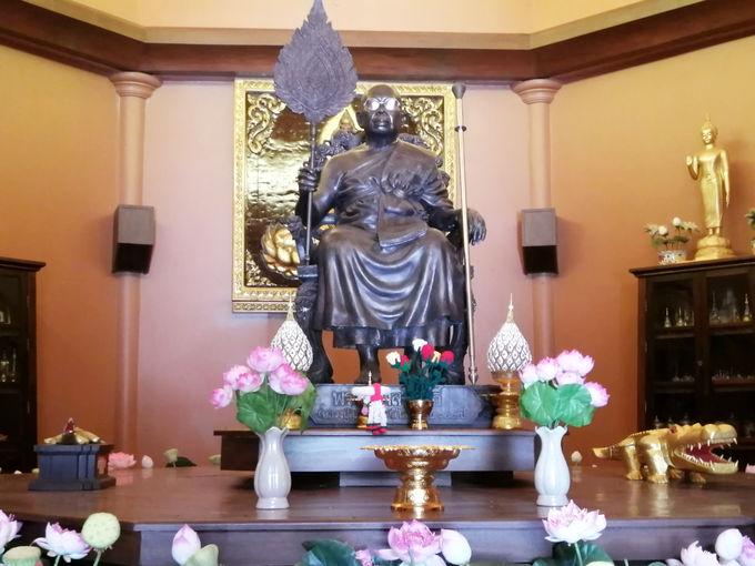 タイで最も長寿であった高僧ルアンプースパ