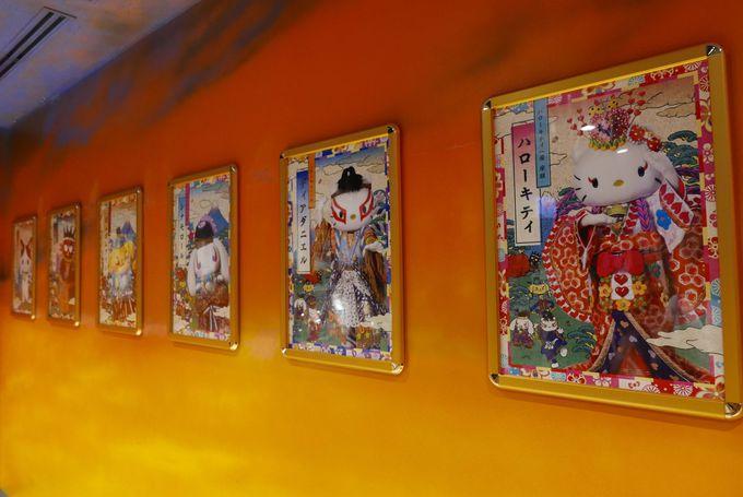 ハローキティが歌舞伎に挑戦!?