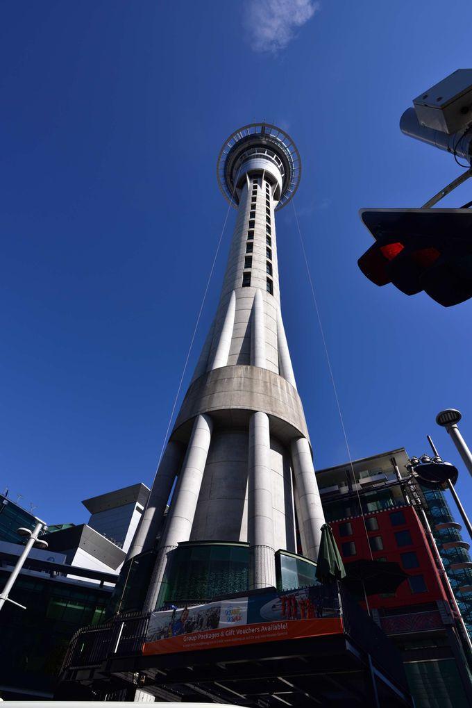 南半球一の高さ アトラクション充実のスカイタワー