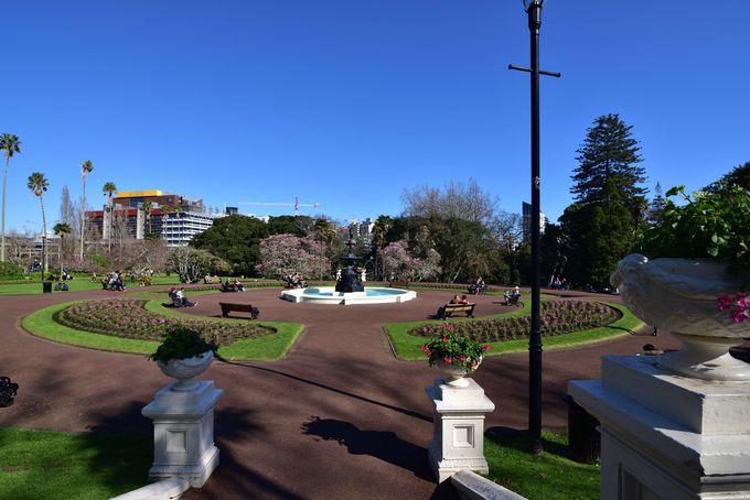 市民の憩いの場 アルバート公園