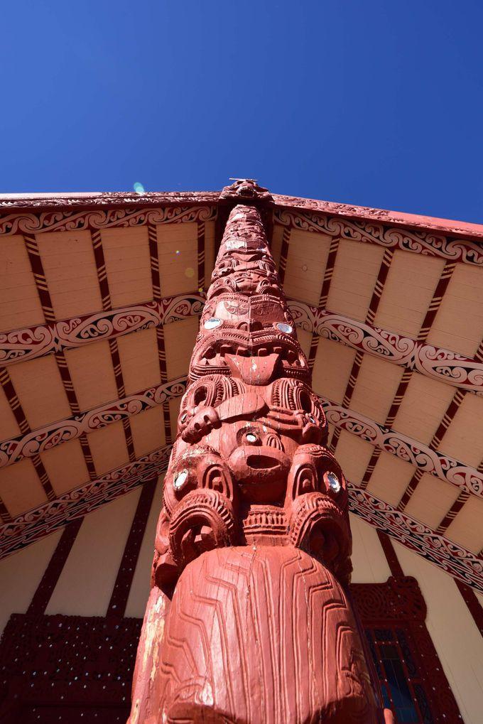 伝統文化を体験 オヒネムツ・マオリ村