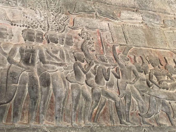 ヒンドゥー教神話の世界にどっぷり浸かる アンコール・ワット