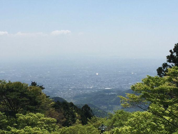 阿夫利神社 下社から山頂へ