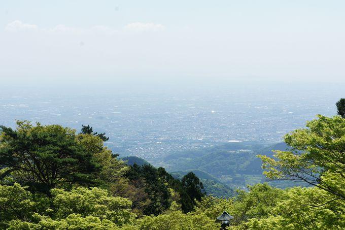 大山寺から阿夫利神社下社へ