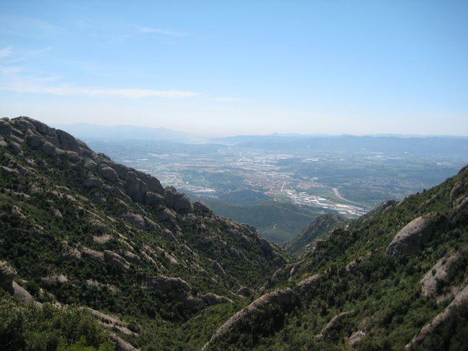 絶景しか見えない 自然溢れる登山道