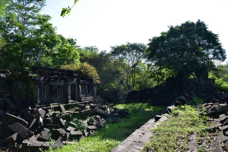 カンボジア・アンコール遺跡「ベンメリア」はまるで美しき廃墟!