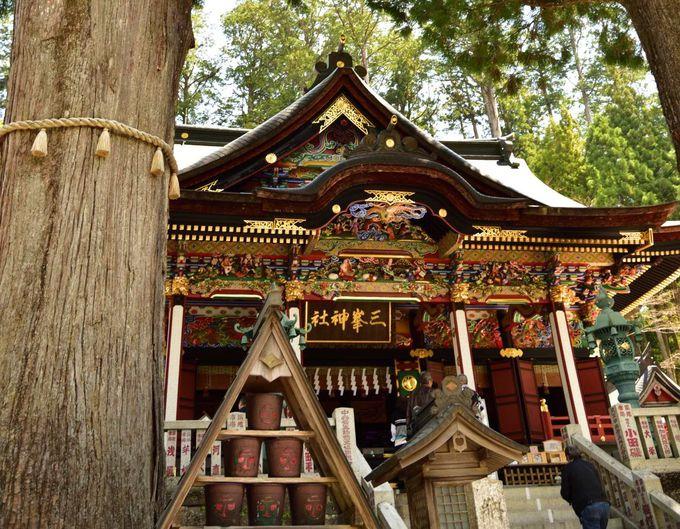 龍現る豪華絢爛な拝殿