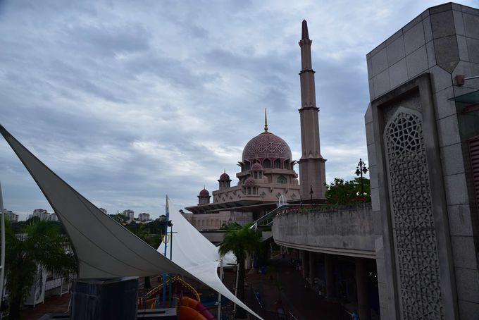 モスク周辺の風光明媚な景色